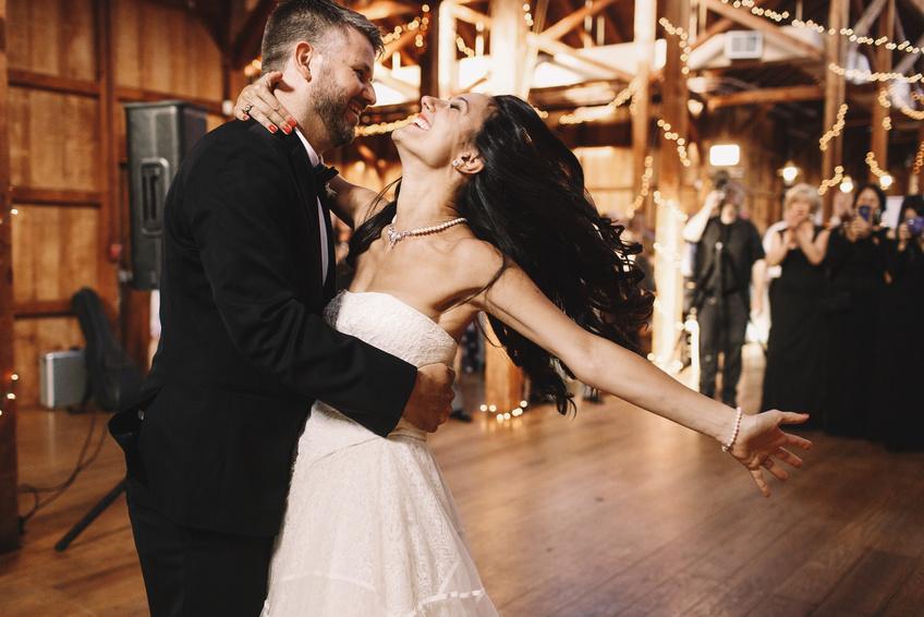 Hochzeitstanz massgeschneidert in Privatstunden